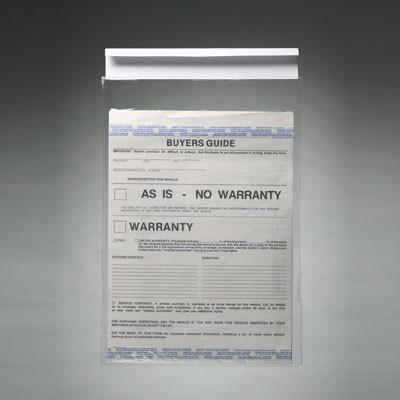 Clip-on Window Form Holder