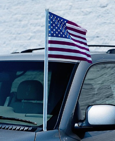 U.S. Cloth Antenna Flag