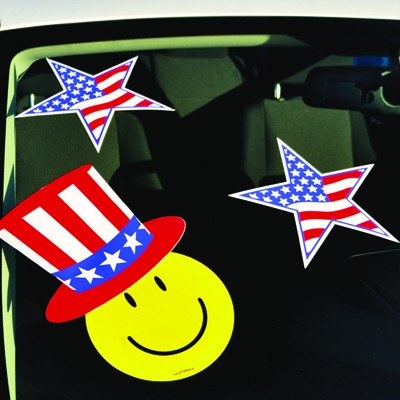 Patriotic Star Decals