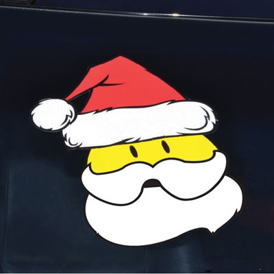 Holiday Decals-Beard (12pk)