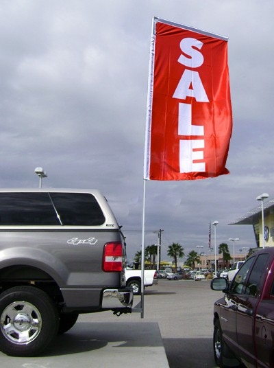 Boomer Flag & Pole Kit with Trailer Hitch Adapter