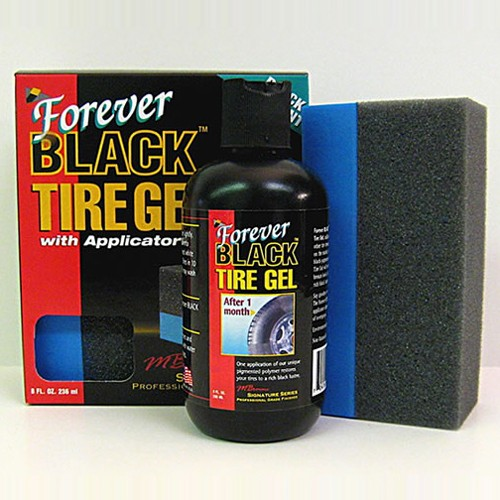 Forever BLACK Tire Gel with applicator