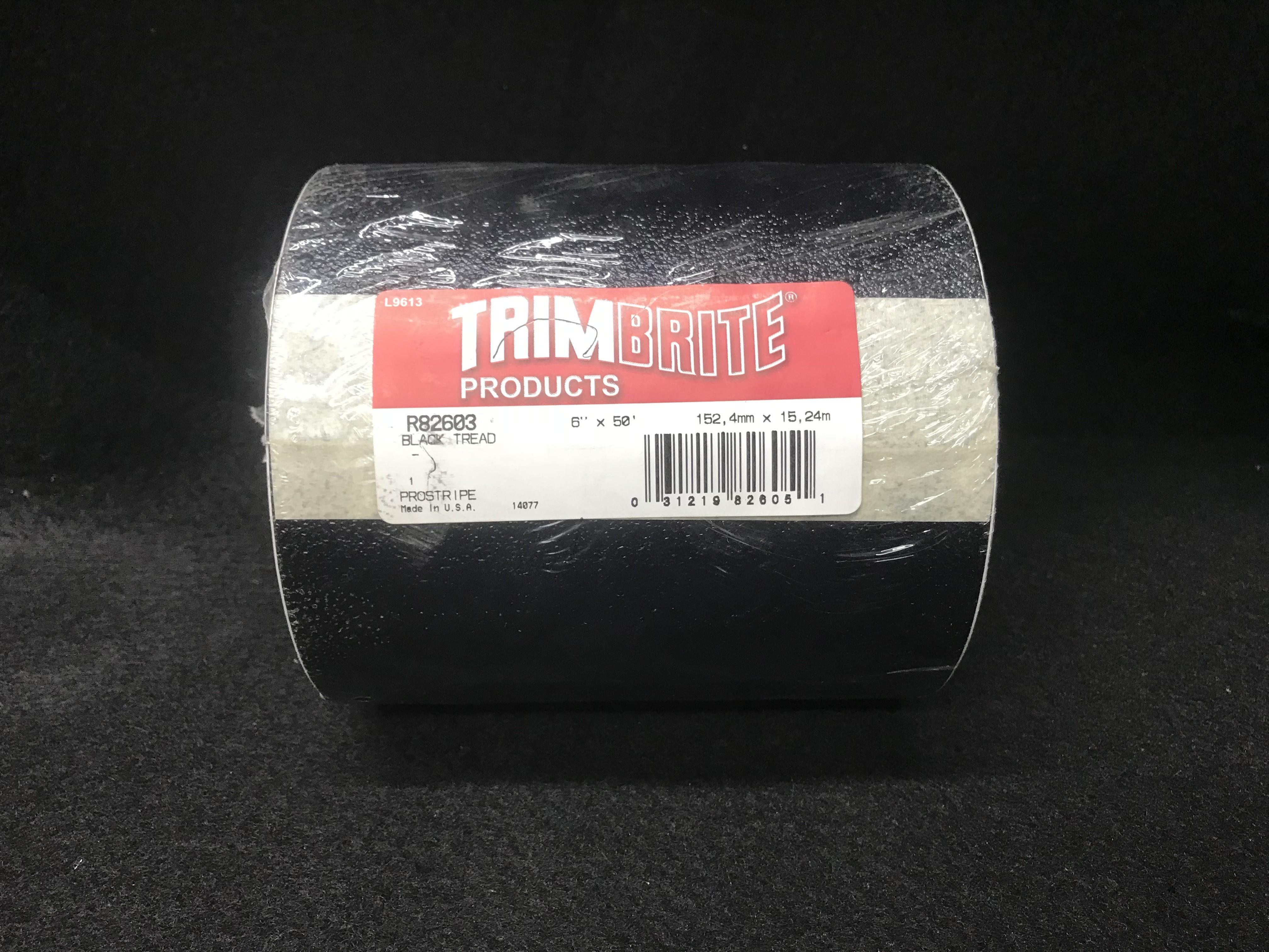 """ProStripe R82603 Black Textured Tread 6"""" x 50'"""
