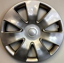 "Wheel Covers: Premier Series: 449 Silver (16"")"