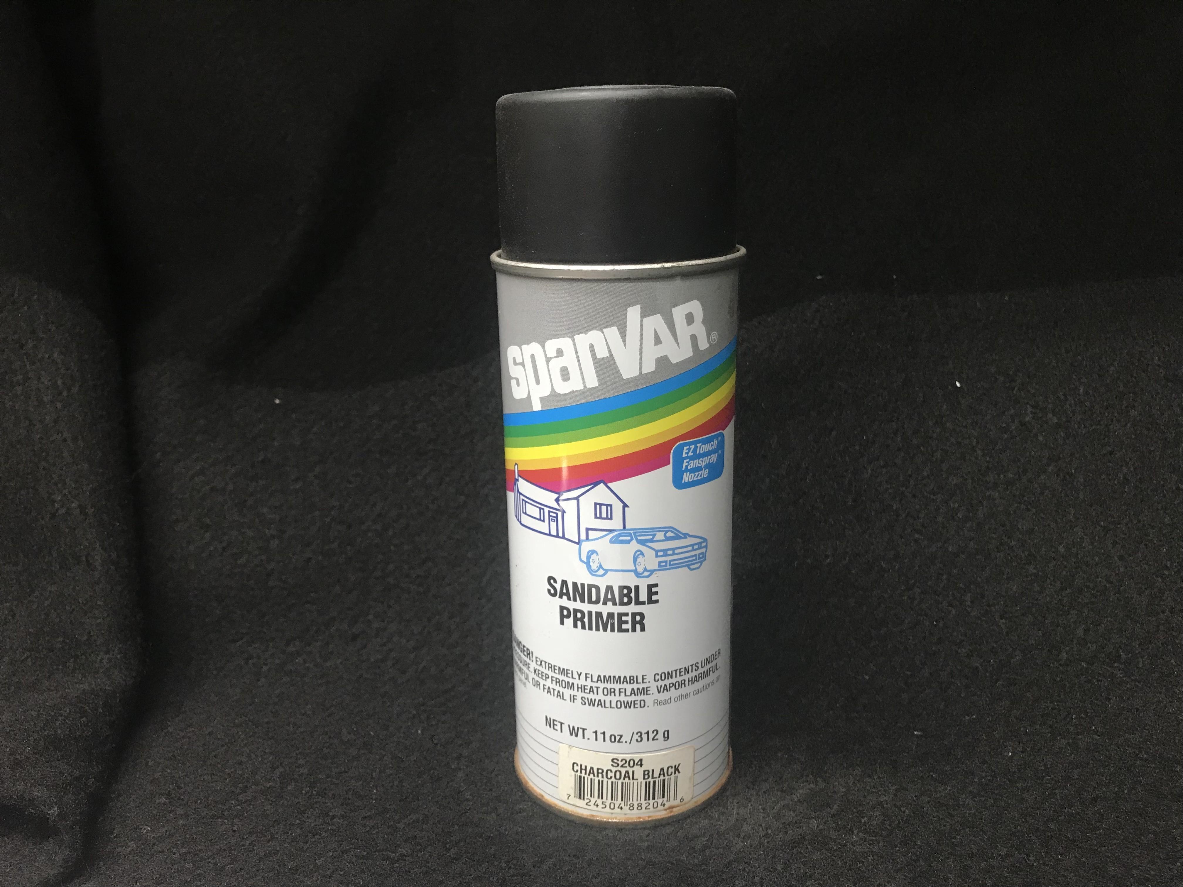 Sparvar Charcoal Black Sandable Primer