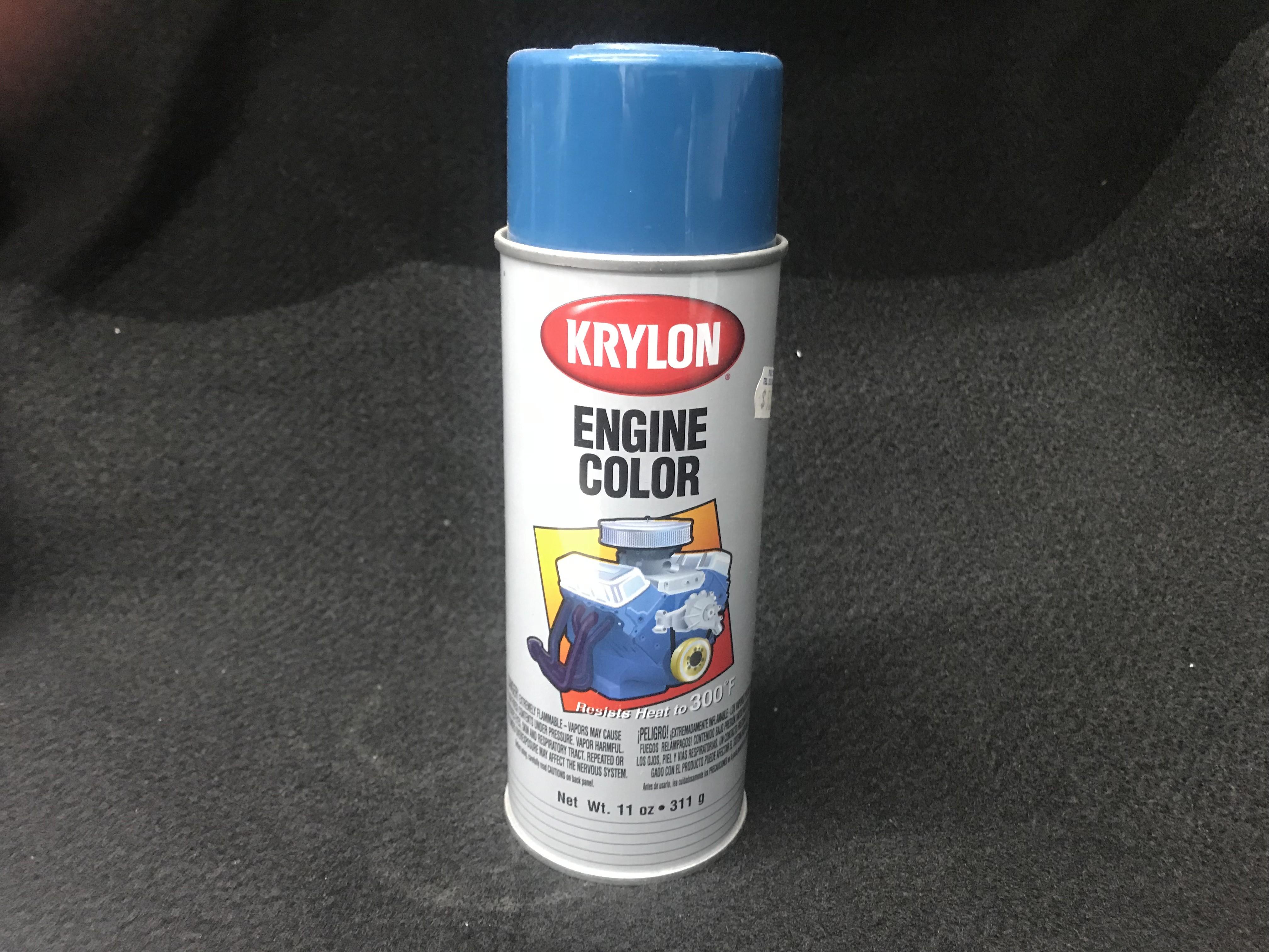 Krylon GM Blue Engine Paint