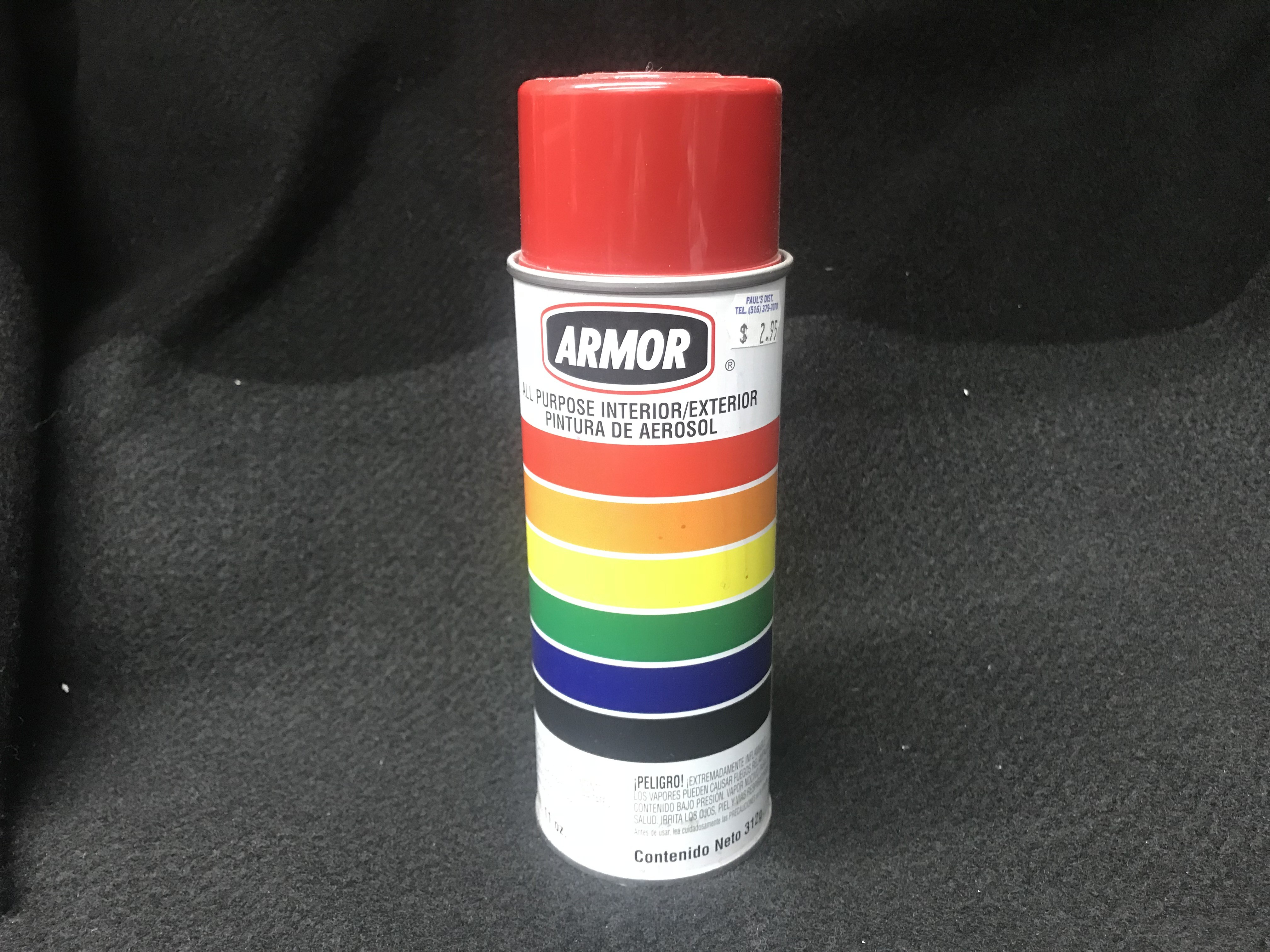 Armor Chinese Cherry Red Spray Paint