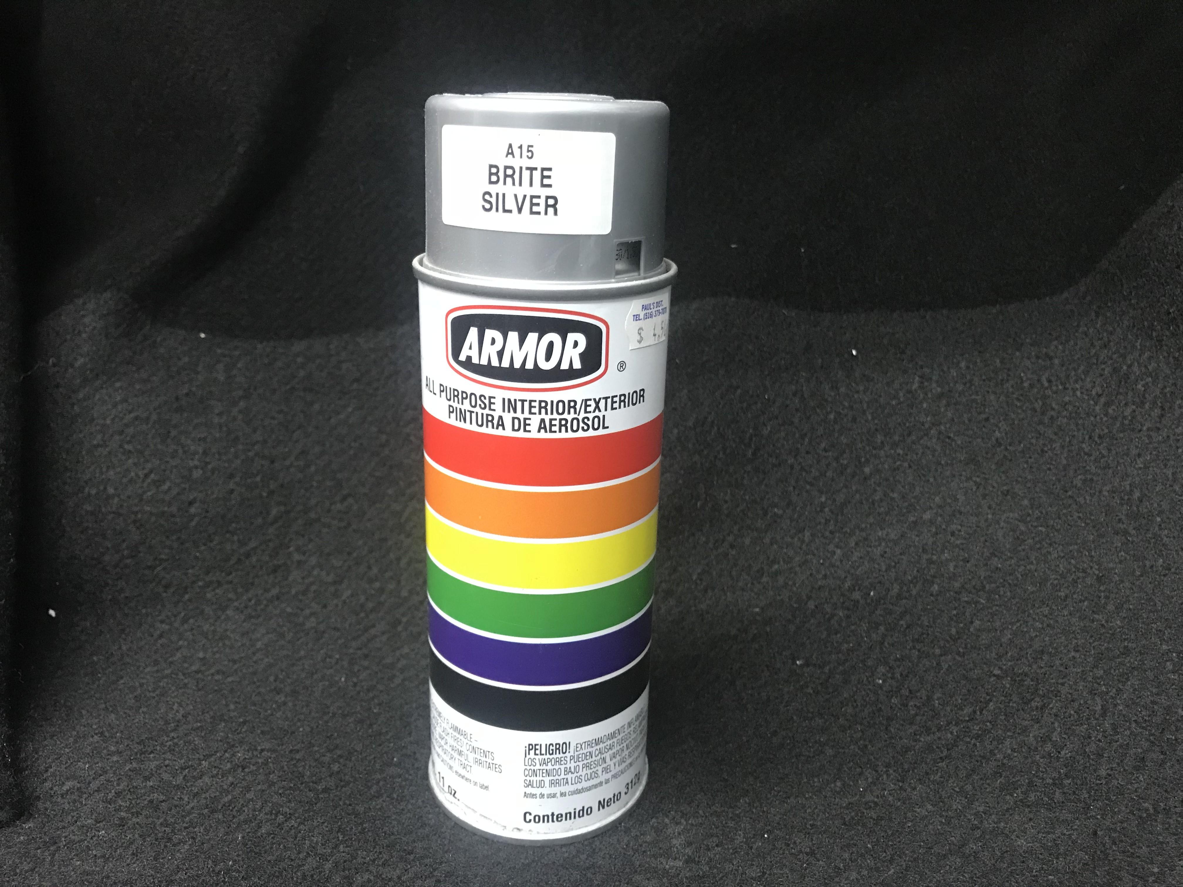 Armor Brite Silver Spray Paint