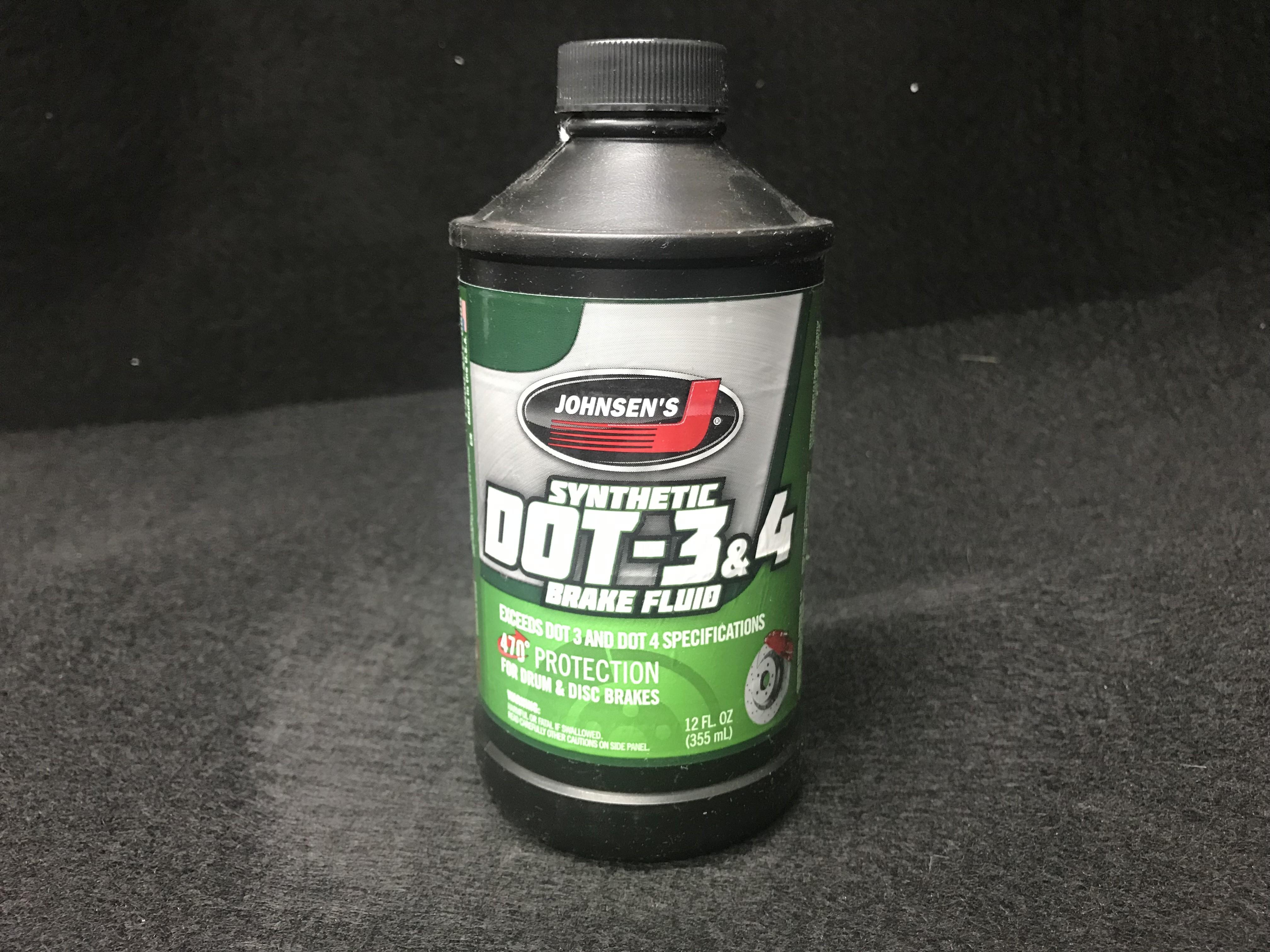 Johnsen's Premium Synthetic DOT 4 Brake Fluid