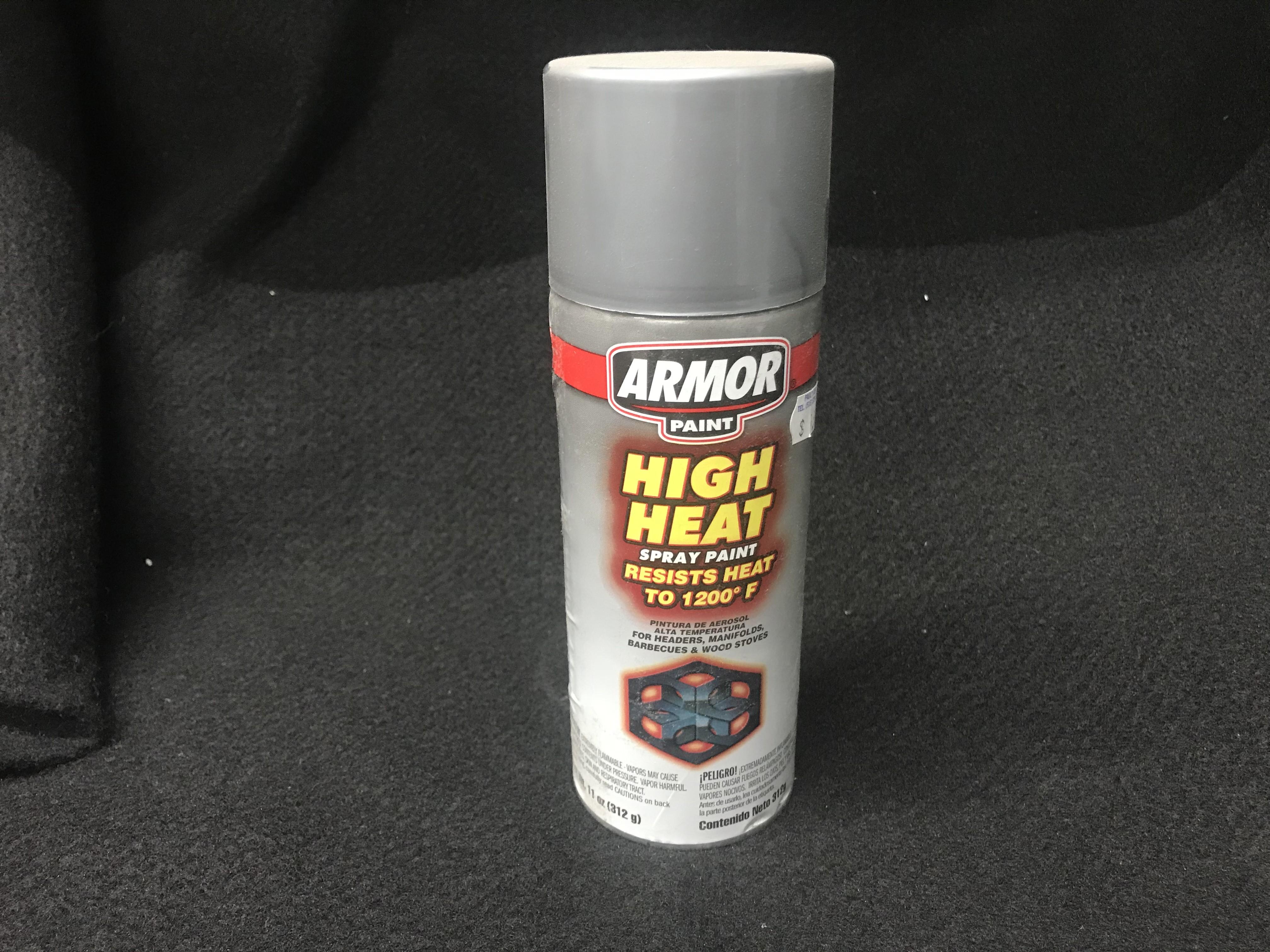 Armor High Heat Aluminum Spray Paint