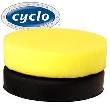 CYCLO- Yellow Foam Cutting Bonnet (Each)