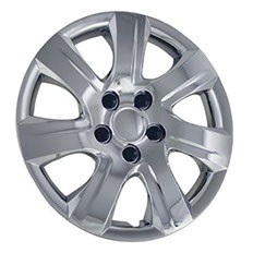 """Wheel Covers: Premier Series: 445 Chrome or SIlver (16"""")"""