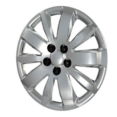 "Wheel Covers: Premier Series: 461 Silver (16"")"