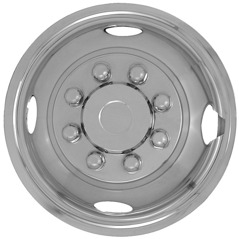 "Wheel Covers: Simulator Series: 440 Silver (16"")"