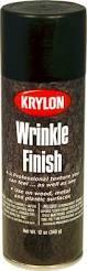 Krylon Wrinkle Finish Black Spray Paint