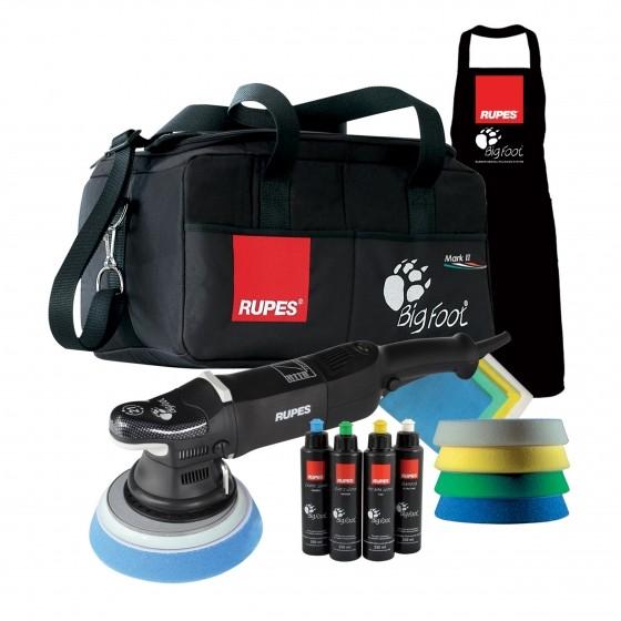 Rupes BigFoot 21mm throw MARKII 180mm polishing pad deluxe kit
