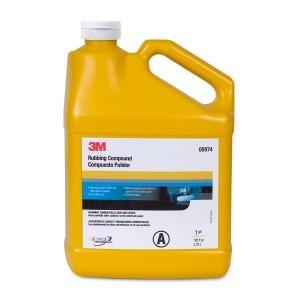 3M Rubbing Compound, 1 Gallon, 05974
