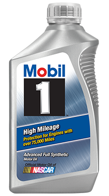 Mobil 1 High Mileage Advanced Full Synthetic 10w-40 Motor Oil
