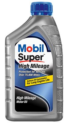 Mobil Super High Mileage 10W-40 Motor Oil