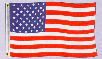 NABCO American Flags: US Polyester Flag 3'x5'