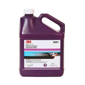3M Perfect-It EX Rubbing Compound, Gallon, 36061