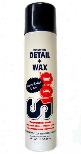 S100 Detail + Wax 10 oz.
