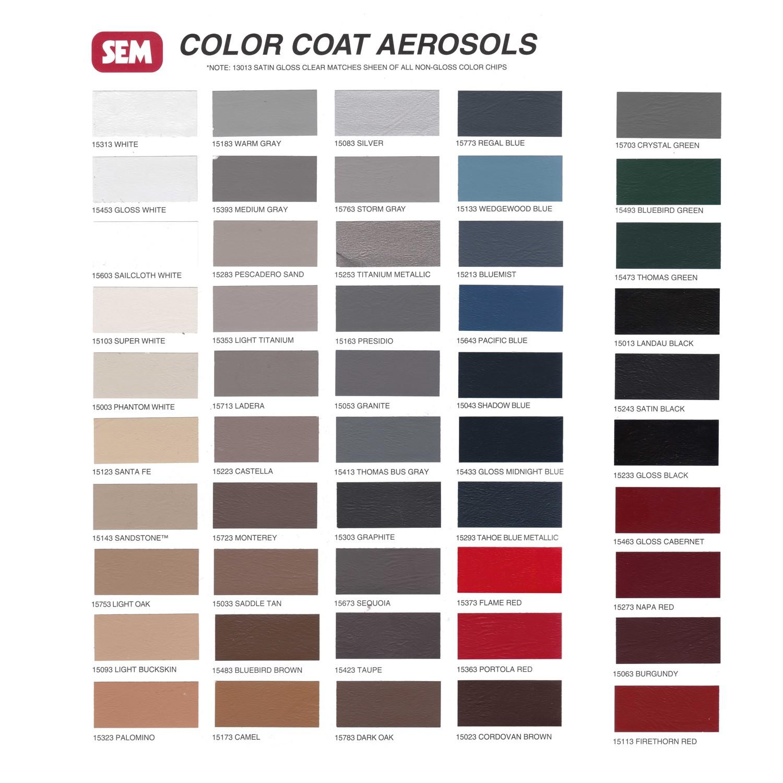 SEM Color Coat