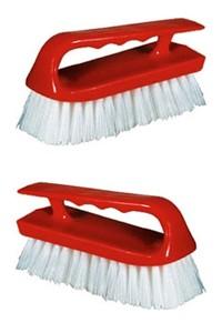 "6"" Iron Style Scrub Brush"