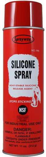 SPRAYWAY SILICONE SPRAY & RELEASE AGENT