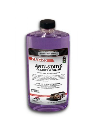 TEC25 Anti-Static Cleaner/Polish (16oz)