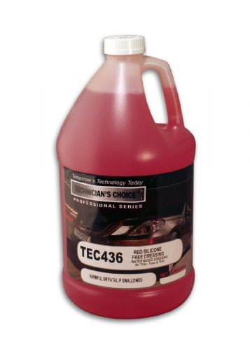 TEC436 Red Silicone Free Dressing (5Gallon)