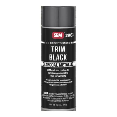 Trim Black Charcoal Metallic - 39033