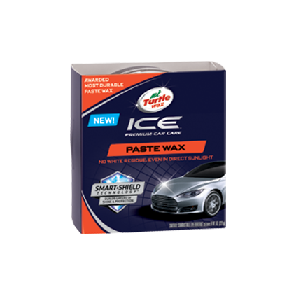 TURTLE WAX ICE PASTE WAX 8 wt. oz