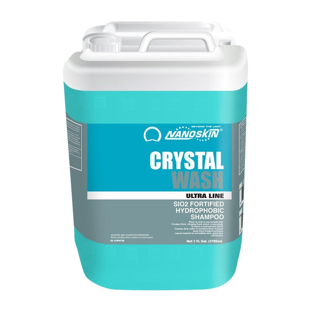 CRYSTAL WASH SiO2 Fortified Hydrophobic Shampoo-5Gal
