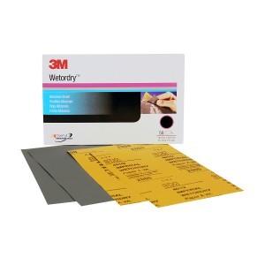 3M Wetordry Sheet, 2500 GRIT, 5.5 X 9 INCH 02045