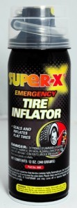 SUPER-X EMERGENCY TIRE INFLATOR WITH HOSE
