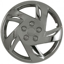 "Wheel Covers: Premier Series: 417 Chrome (15"")"