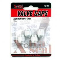 Aluminum Valve Caps-Silver