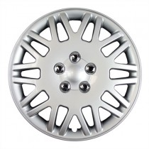 "Wheel Covers: Premier Series: 406 Silver (14"")"