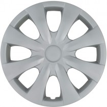 Wheel Covers: Premier Series: 450 SIlver