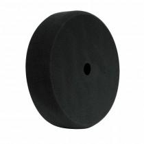 "8"" Black Foam Finishing Pad, Recessed Back Grip Pad"