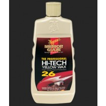Meguiar's Mirror Glaze Hi-Tech Yellow Wax - 16 oz.