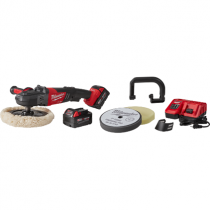 "Milwakee M18 FUEL 7"" Variable Speed Polisher Kit w/ Pads"