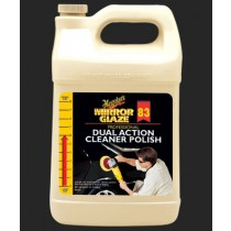 MEGUIAR'S  Mirror Glaze Dual Action Cleaner Polish,  1 Gallon