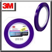 "3M Automotive 6405 - Scotch Plastic Tape 471, Blue, 1/4"" x 36 yds"