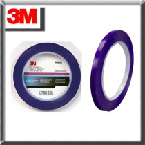 "3M 06404 1/8"" x 36 Yards Blue Scotch Plastic Tape"