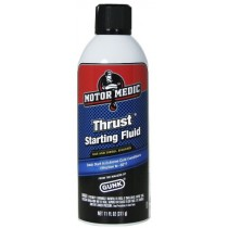 Motor Medic by Gunk Thrust Starting Fluid for Gas & Diesel Engines - 11 oz.