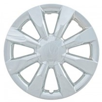 "Wheel Covers: Premier Series: 424 Chrome (15"")"