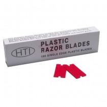 PLASTIC RAZOR BLADES (100/BX)
