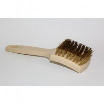 "BRASS WHITE WALL BRUSH/1"" BRISTLE"